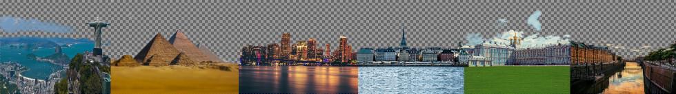 Collage de fotografías en GIMP fantasia circular 3