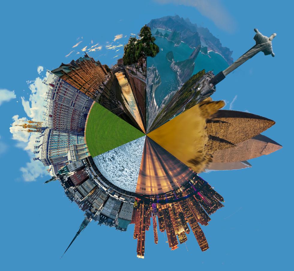 montaje GIMP completo fantasia circular
